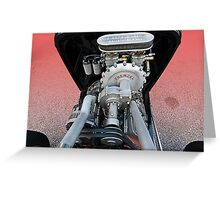 Frenzel Supercharger Greeting Card