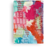 Wild and Free - Textured Abstraction Canvas Print