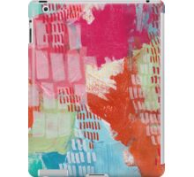 Wild and Free - Textured Abstraction iPad Case/Skin