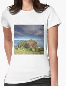 Dunnottar Castle Womens Fitted T-Shirt