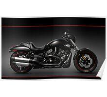 Harley Davidson VRSCD Night Rod Special Poster