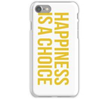 Yellow Happiness iPhone Case/Skin
