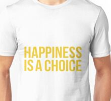 Yellow Happiness Unisex T-Shirt