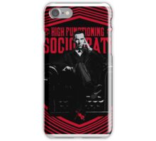 High Functioning Sociopath iPhone Case/Skin