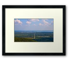Long Road to nowhere! Framed Print