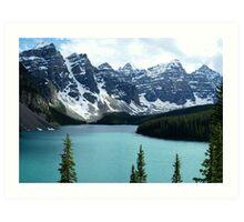 Moraine Lake Alberta Art Print