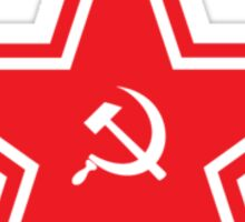 CCCP - Hammer and Sickle - Red Army Star Sticker