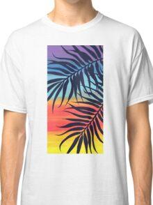 Palm Tree at Sunset Classic T-Shirt
