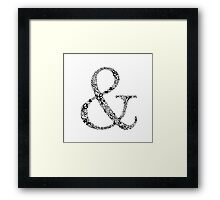 Ampersand Prints, Cards and Posters Framed Print