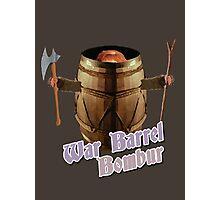 War Barrel Bombur Photographic Print