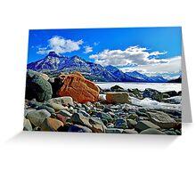 Waterton National Park, Alberta, Canada Greeting Card