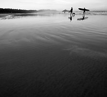 Long Beach surfers by riosaimages