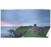 Dunnottar Castle at Sunrise Poster