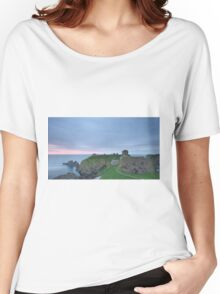Dunnottar Castle at Sunrise Women's Relaxed Fit T-Shirt