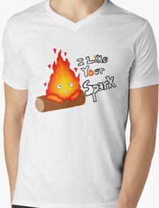I like your spark Mens V-Neck T-Shirt