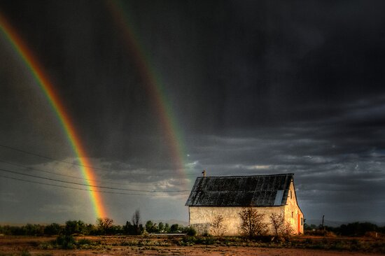 Rainbow Shed by Bob Larson
