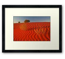 Sundown,Simpson Desert Framed Print