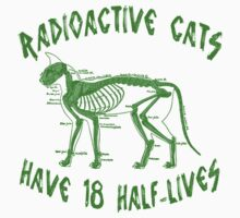 Radioactive Cats One Piece - Short Sleeve