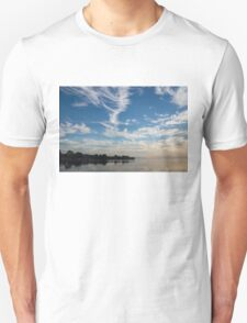 Of Feathery Clouds and Tranquil Mornings T-Shirt