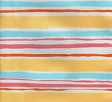 Ever So Sweet - Abstract Stripes by angelique devitte