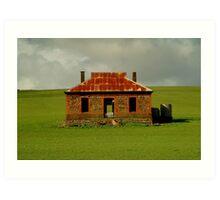 Passing Storm, Burra Ruins Art Print