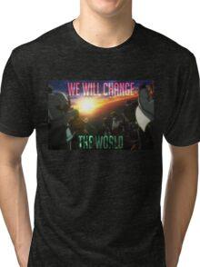 Change The World Tri-blend T-Shirt