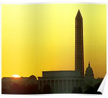 District of Columbia - Washington D C Poster