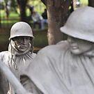 Korean Memorial - Washington D C  Plate # 01 by Matsumoto
