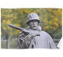 Korean Memorial - Washington D C  Plate #03 Poster