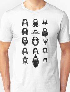 The Bearded Company Black and White T-Shirt