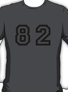 Number Eighty Two T-Shirt