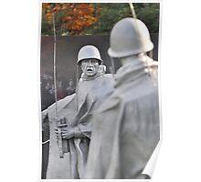 Korean Memorial - Washington D C   Plate #07 Poster