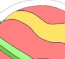 saturn doodle! Sticker