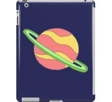 saturn doodle! iPad Case/Skin
