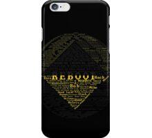 ReBoot Typography iPhone Case/Skin
