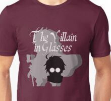 The Villain in Glasses Unisex T-Shirt