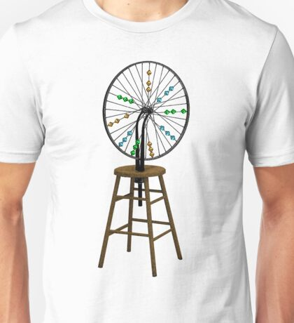 Redesigning the Wheel (After Duchamp) T-Shirt