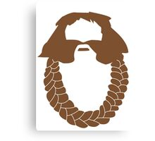 Bombur's Beard Canvas Print