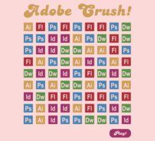 Adobe Crush! Kids Tee