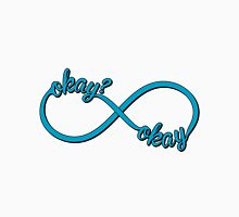 The Fault In Our Stars - Infinity Okay Womens Fitted T-Shirt