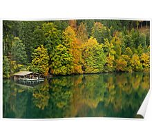The Alpsee in Fall Poster