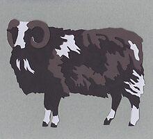 Balwen Sheep by thesilkmoth