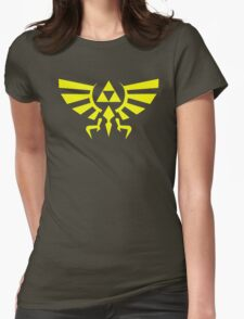 hyrule crest Womens Fitted T-Shirt