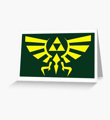hyrule crest Greeting Card