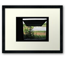 Empty Building With Water Views Framed Print
