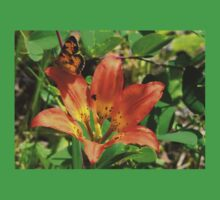 Tiger Lily and Butterfly T-Shirt