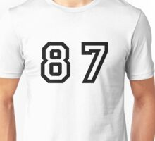 Number Eighty Seven Unisex T-Shirt