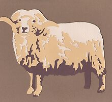 Portland Sheep by thesilkmoth