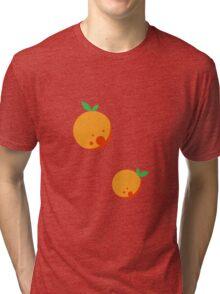 Bubbly Orange Tri-blend T-Shirt
