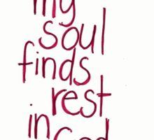 Psalm 62: Rest Sticker